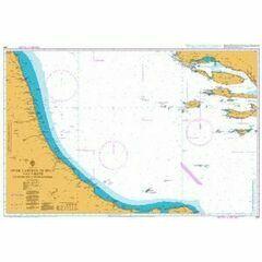 200 Otok Lastovo - Split & Vieste to Porto Civitanova Admiralty Chart