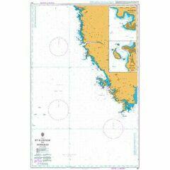 201 Rt Kamenjak to Novigrad Admiralty Chart