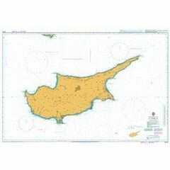 2074 Cyprus Admiralty Chart