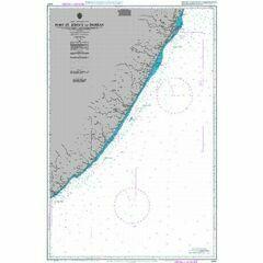 2087 Port St John's to Durban Admiralty Chart