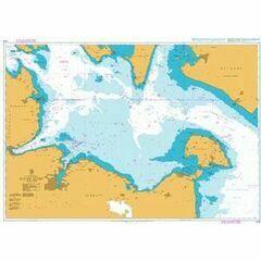 2942 Kieler Bucht Admiralty Chart