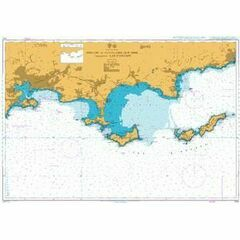 2120 Toulon to Cavalaire Sur Mer Admiralty Chart
