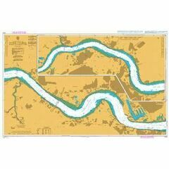 2151 River Thames - Tilbury to Margaret Ness Admiralty Chart