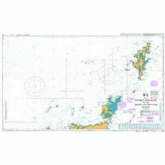219 Western Approaches to Orkney & Shetland Admiralty Chart