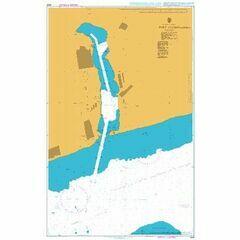 2202 Port Yuzhne (Yuzhnyy) Admiralty Chart