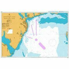 2212 Dnistrovs`kyy Lyman to Dniprovs`kyy Lyman Admiralty Chart