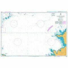 2222 Gotska Sandon to Hiiumaa Admiralty Chart