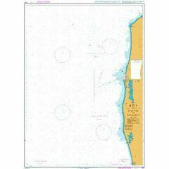 2231 Baltic Sea-Lithuania & Latvia Sventoji to Pavilosta Admiralty Chart