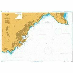 2244 Monaco and Approaches Admiralty Chart