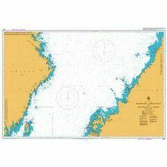 2301 Holmsund to Skelleftea and Pietarsaari to Tauvo Admiralty Chart