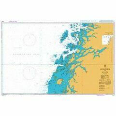 2310 Norway - West Coast,Bremstein to Myken Admiralty Chart