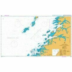 2321 Norway-West Coast, Vestfjorden Myken to Moskenesoya Admiralty Chart