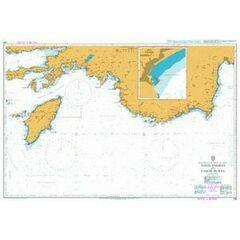 236 Nisos Rodhos to Taslik Burnu Admiralty Chart