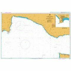 237 Taslik Burnu to Anamur Burnu Admiralty Chart