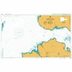 2392 Sound of Mull - Western Entrance Admiralty Chart