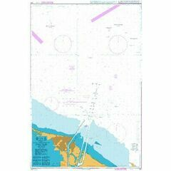 241 Outer Approaches to Port Said Admiralty Chart
