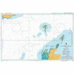 245 Scotland to Iceland Admiralty Chart
