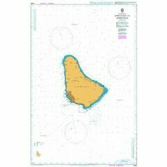 2485 Approaches to Barbados Admiralty Chart