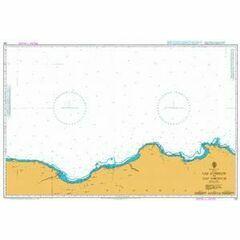 252 Cap Corbelin to Cap Takouch Admiralty Chart