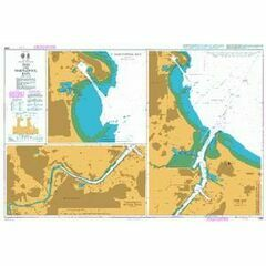 2566 Tees and Hartlepool Bays Admiralty Chart