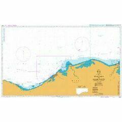 2574 Ras el Dab'a to Masabb Dumyat Damietta Mouth Admiralty Chart