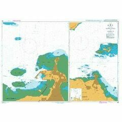 264 Approaches to Djibouti Admiralty Chart