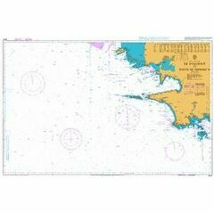 2643 Ile d'Ouessant to Pointe de Penmarc'h Admiralty Chart