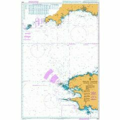 2655 English Channel - Western Entrance Admiralty Chart