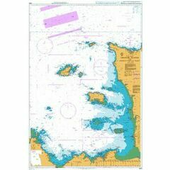 2669 Channel Islands and Adjacent Coast of France Admiralty Chart