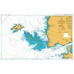 2356 Goulet de Brest including Ile d'ouessant Admiralty Chart