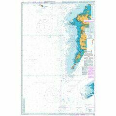 2722 Skerryvore to Saint Kilda Admiralty Chart