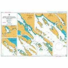 2773 Sibenik, Pasmanski kanal, Luka Telascica Admiralty Chart