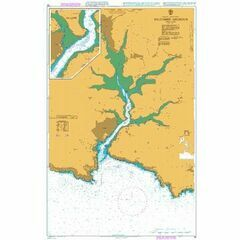 28 Salcombe Harbour Admiralty Chart