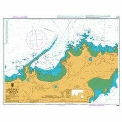 2845 Alderney Harbour Admiralty Chart