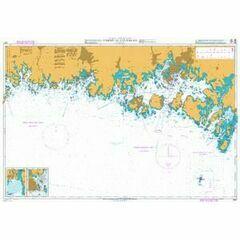 2857 Baltic Sea. Sweden - S. Coast. Tarno to Utlangan Admiralty Chart