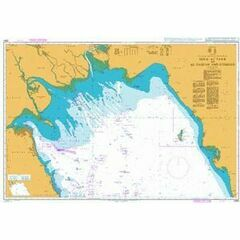2884 Mina az Zawr to Al Basrah and Bushehr Admiralty Chart