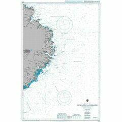 2901 Iceland East Coast Glettinganes to Stokksnes Admiralty Chart