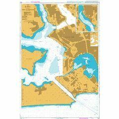 3103 Port d'Abidian Admiralty Chart