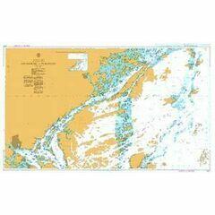 3127 Osterskar to Furusund Admiralty Chart