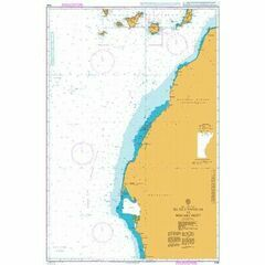 3134 Islas Canarias to Nouakchott Admiralty Chart