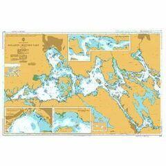 803 Sweden-East Coast, Malaren, Western Part, Hjulstafarden and Aggarosundet Admiralty Chart