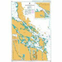 3169 Oregrunds Skargard Admiralty Chart