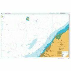3175 Jazirat Al Hamra' to Dubayy and Jazireh-ye Sirri Admiralty Chart