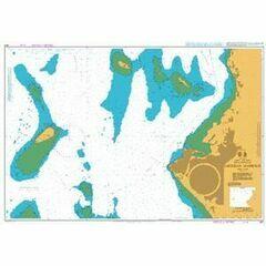 3211 Zanzibar Harbour Admiralty Chart
