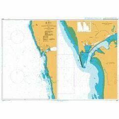 3257 Viana de Castelo & approaches Admiralty Chart