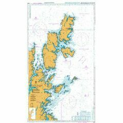 3282 Shetland Islands North East Sheet Admiralty Chart