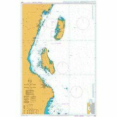 3310 Mafia Island to Pemba Island Admiralty Chart