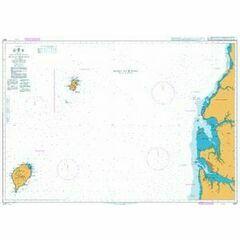 3327 Bata to Libreville including Ilhas do Principe and de Sao Tome Admiralty Chart