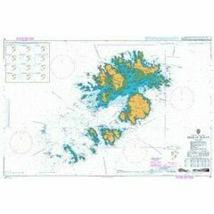 34 Isles of Scilly Admiralty Chart