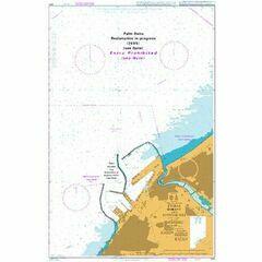 3411 Dubai (Dubayy) and Approaches Admiralty Chart